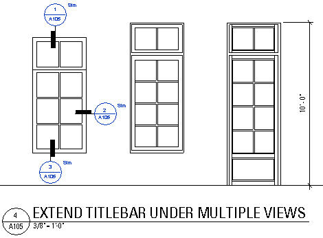 Revit graphic detail references in door window faux for Window elevation designs