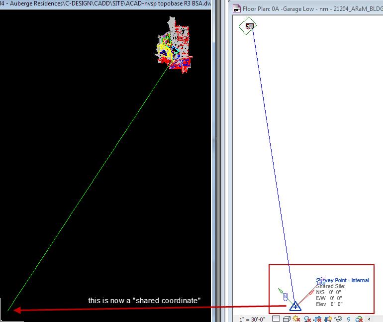 CAD Origin to Revit