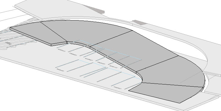 modeling parking garage ramps aperte design