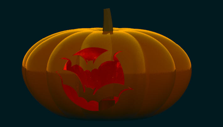 Bat Pumpkin - Nancy